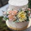 Bridal Tea Inspirational Shoot by Events by Jackie M Cake by Pete's Sweets Photo by Brooke Ellen Photography